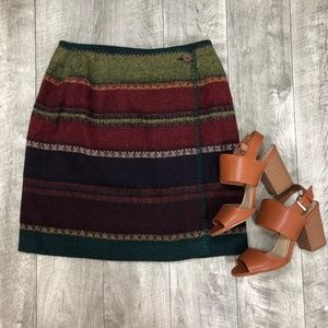 The Limited Vintage 90's Wool Wrap Skirt Medium